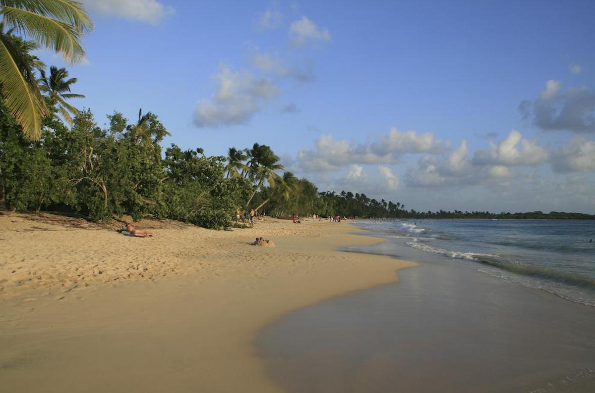 Plaża na Martynice