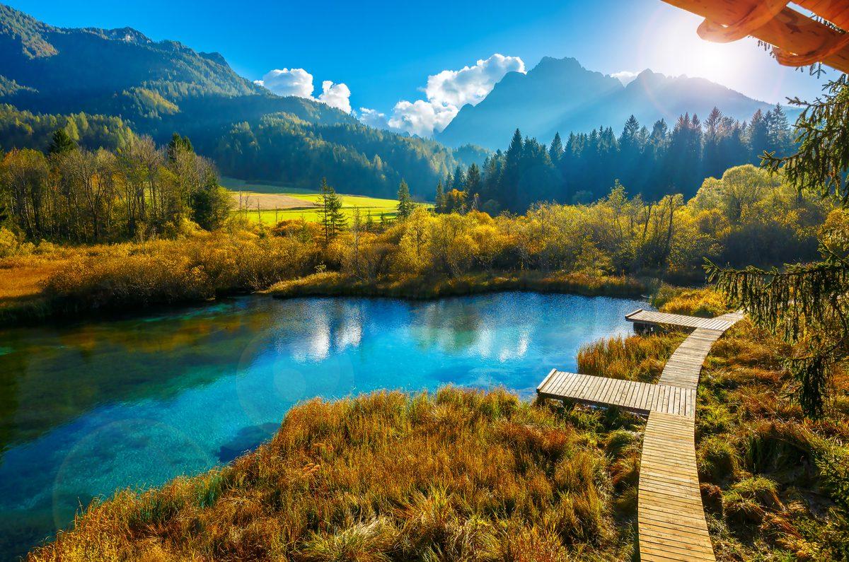 jezioro w Słowenii