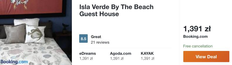 zarezerwuj hotel na portoryko