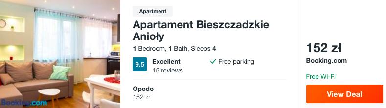 zarezerwujcie hotel w bieszczadach
