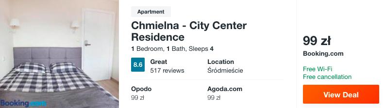 zarezerwuj hotel w apartamencie