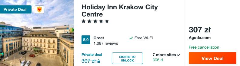 zarezerwuj hotel w holiday inn