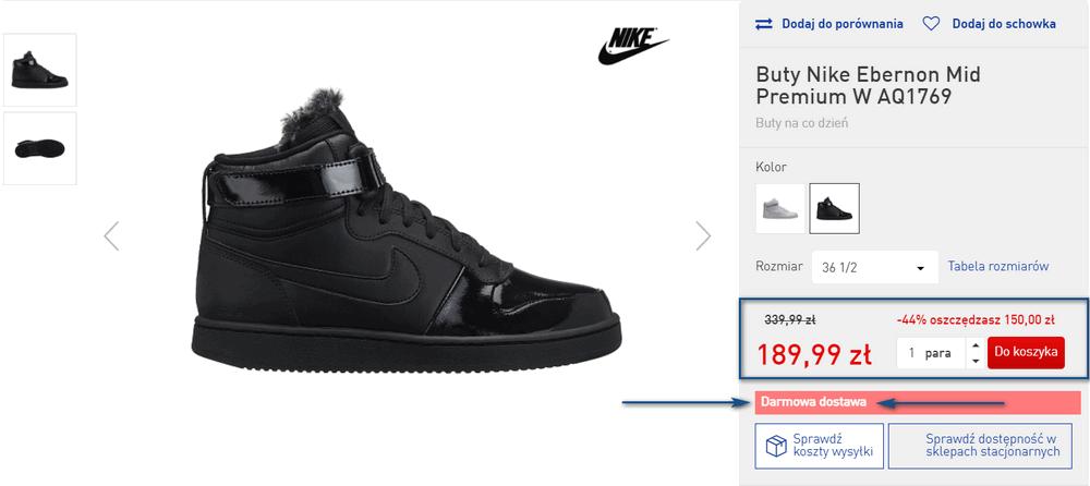intersport buty promocja