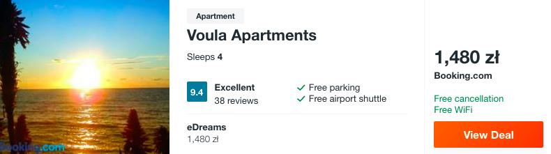 zarezerwuj hotel w grecji