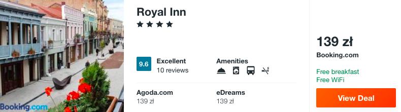 zarezerwuj hotel w gruzji