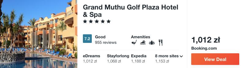 zarezerwuj hotel na teneryfie