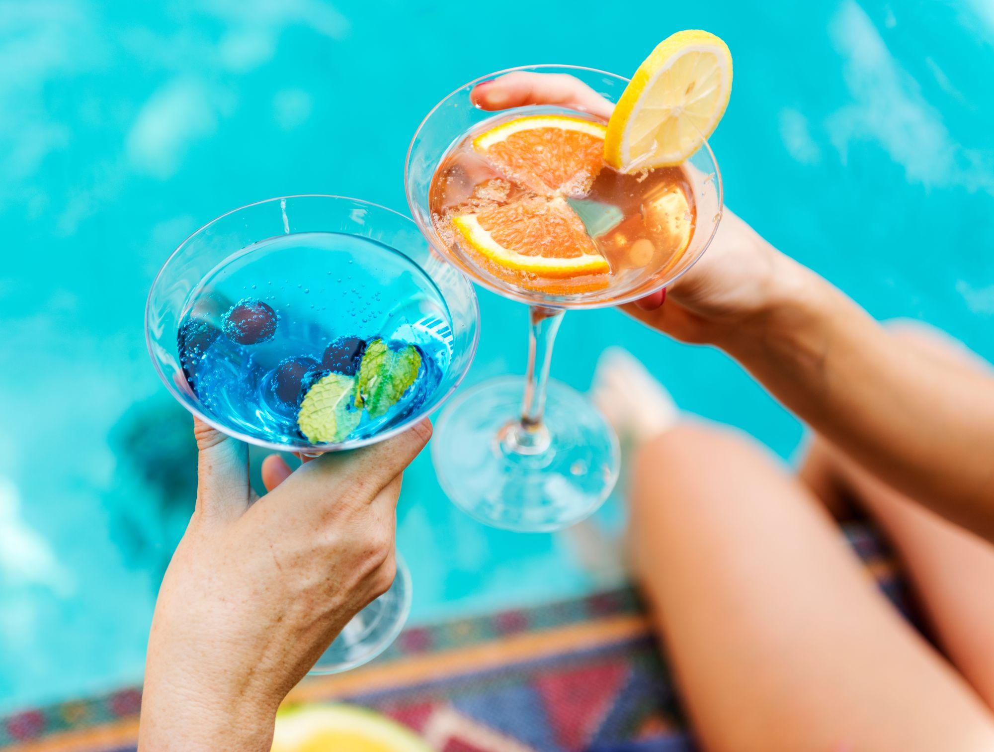 drinki nad basenem