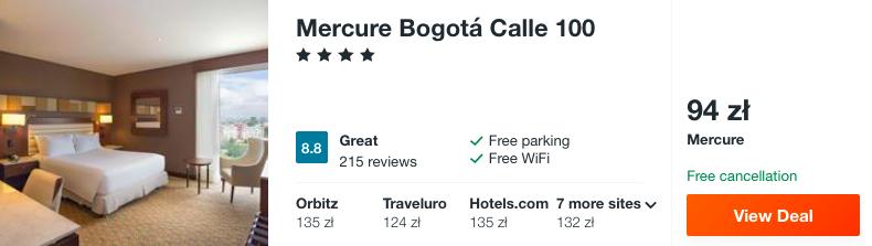 zarezerwuj hotel w bogocie