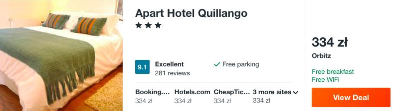 zarezerwuj hotel w chile