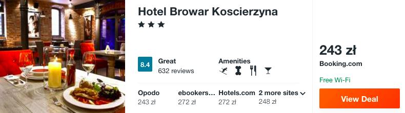 zarezerwuj hotel na kaszubach
