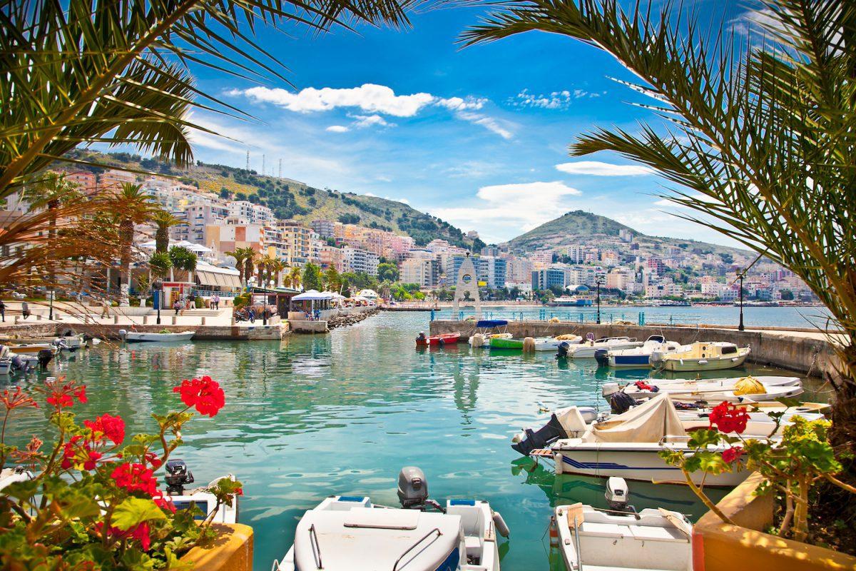 wybrzeze albanii