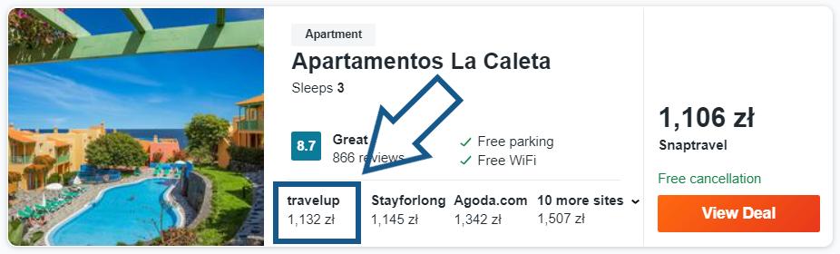 zarezerwuj hotel na La Palma