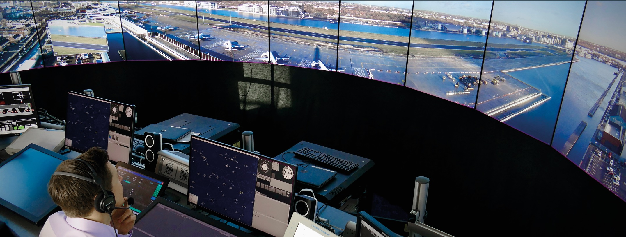 cyfrowa wieża kontroli lotów