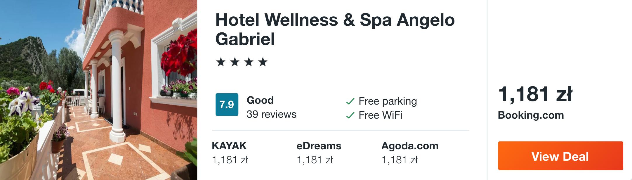 zarezerwuj hotel w czarnogorze