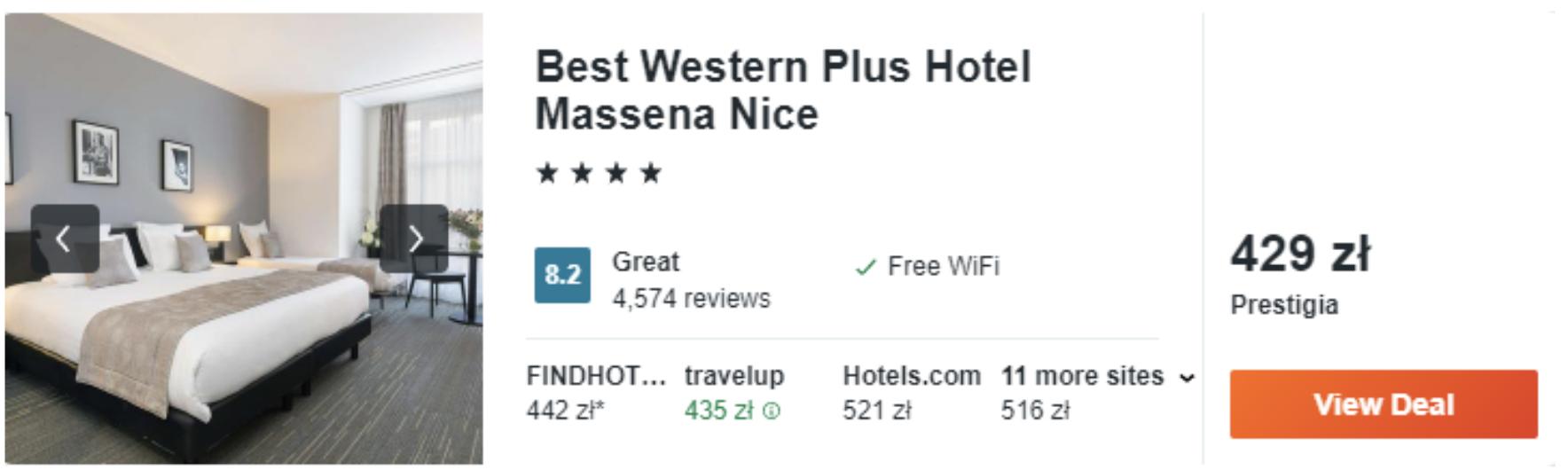 zarezerwuj hotel